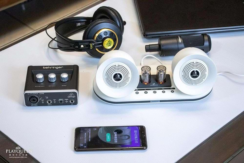 bakkarat電子真空管音域喇叭,美國LANCHIYA共同研發,日本揚聲器技術25khz高音聆聽系統,最輕型的音樂怪獸!