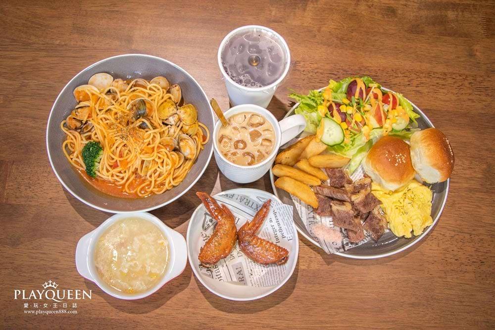 Fun晴輕食早午晚餐 台中大里親子餐廳,下午茶、台中隱藏美食推薦