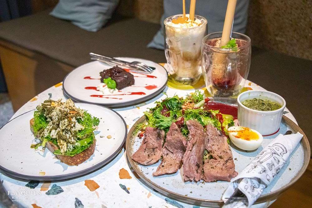 很多咖啡 Manni Café  台中篤行路,台中最新小文青,咖啡下午茶酒吧,輕食與美的饗宴