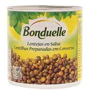 Lentilha Bonduelle Conserva 265g Lata