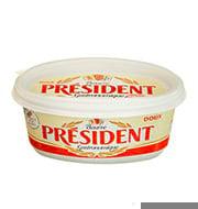 Manteiga President Berrue S/sal 250g Pote