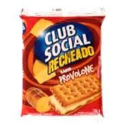 Biscoito recheado sabor provolone Club Social