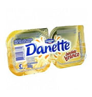 Danette Danone Chocolate Branco 220g (2 unida