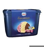 Sorvete Nestlé Napolitano Especialidades 1,5L