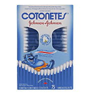 Cotonetes Johnson & Johnson (150 unidades)