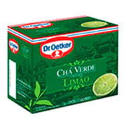 Cha Dr.oetker Verde Limao 15g Caixinha