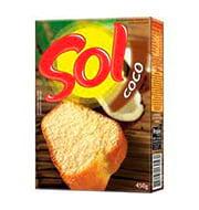 Mistura P/bolo Sol Coco 450g Caixa