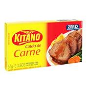 Caldo De Carne Kitano 0% Gordura Trans 57g