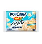 Milho para Pipoca Yoki Microondas Manteiga Li