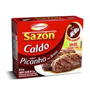 Caldo Sazon Po 37,5g Picanha Toque Alho Caixi