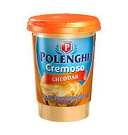 Requeijao Polenghi 200g Cremoso Cheddar