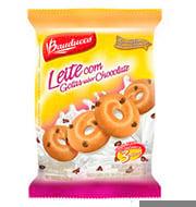 Biscoito Amanteigado Leite com Gotas Chocolate