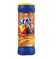 Stax Cheddar Elma Chips 156 g