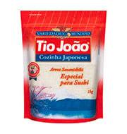 Arroz Tio Joao Cozinha Japonesa 1kg Pacote
