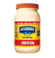 Maionese Hellmanns 500g