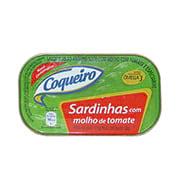 Sardinha Coqueiro Molho Tomate 125g