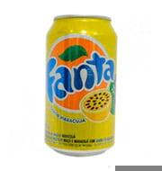 Refrigerante Fanta Maracuja 350ml Lata