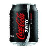 Refrigerante Coca Cola Zero 250ml Lata