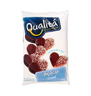 Açúcar Qualita Cristal 1kg Pacote