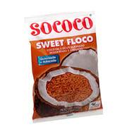 Coco Sweet Flocos Sococo Queimado 100g Pacote