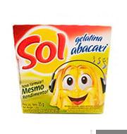 Gelatina Sol Abacaxi 35g Caixinha