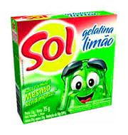 Gelatina Sol Limao 35g Caixinha