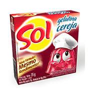 Gelatina Sol Cereja 35g Caixinha