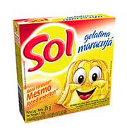 Gelatina Sol Maracuja 35g Caixinha