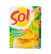 Mistura Bolo Sol Milho Cremoso 450g Caixa