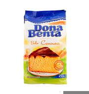 Mistura Bolo Dona Benta Cenoura 450g Pacote