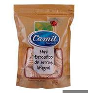 Mini Biscoito De Arroz Integral Camil
