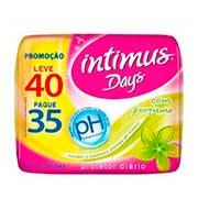 Protetor Diário Intimus Days sem Abas com Per