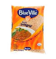 Arroz Blue Ville Integral Saquinhos 1kg Pacot
