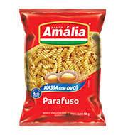 Macarrão Amalia C/ovos Parafuso 500g Pacote