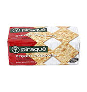 Biscoito Cream Cracker Piraque 200g Pacote