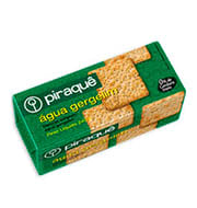 Biscoito Piraque Agua/gergelim 240g Pacote
