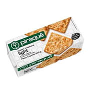 Biscoito Piraque Cream Cracker Light 200g Pac