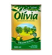 Oleo Composto Olivia Tradicional 500ml Lata