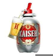 Cerveja Kaiser Pilsen Barril 400ml