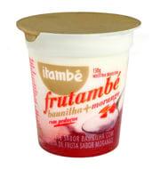 Iogurte Frutambé Baunilha e morango com Pedaç
