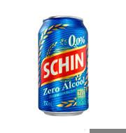 Cerveja Schin Pilsen Zero Álcool 355ml Lata