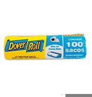 Saco De Lixo Para Banheiro Azul Dover Com 100un