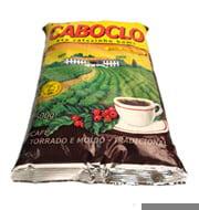 Café Torrado e Moído Caboclo Pacote 500g