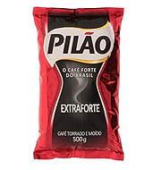 Café Pilão Extra Forte Almofada 500g