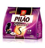 Café Pilão Senseo Intenso 120g C/18 Saches