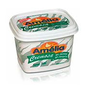 Margarina Amélia Cremosa Sem Sal 500g Pote