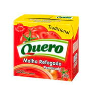 Molho Tomate Quero Refogado 520g Caixinha