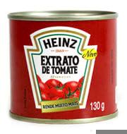 Molho de Tomate Heinz Extrato de Tomate Lata