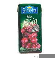 Suco à Basa De Soja Shefa Sabor Uva 200ml
