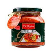 Bruschetta La Pastina Alcachofra/Pimentão